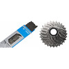 Shimano 105 CS-5800 cassette 11-28 & 105 CN-HG601 Kette 11-speed aandrijving set grijs